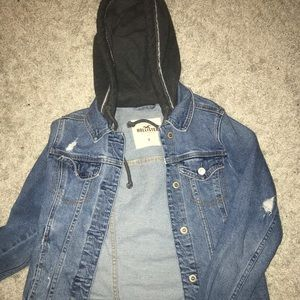 Hollister denim jacket